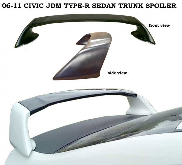 06-11 CIVIC 4D T-R SPOILER ABS