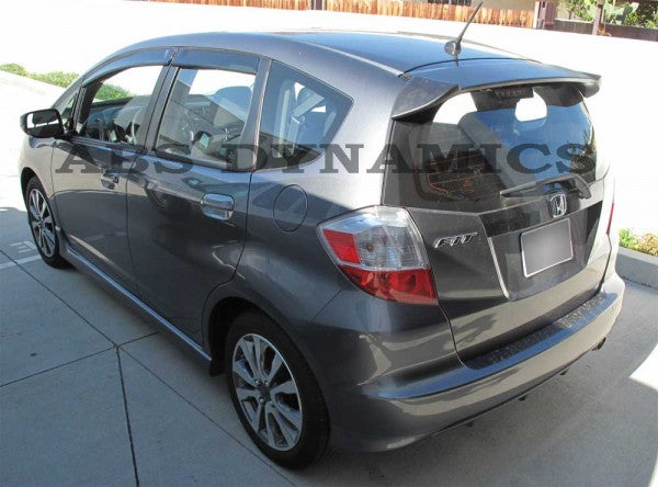 09-12 HONDA FIT REAR HATCH SPOILER WING PLASTIC