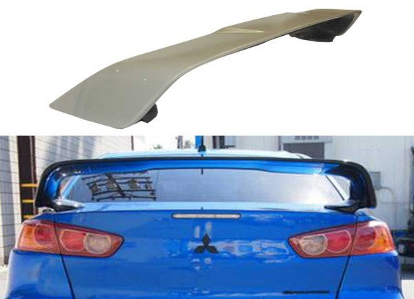 08-13 MITSUBISHI EVO X OEM STYLE SPOILER WING ABS PLASTIC