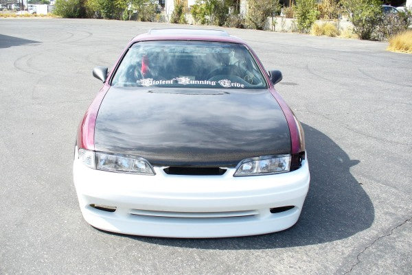 95-96 240sx Hood Oem Style (carbon)