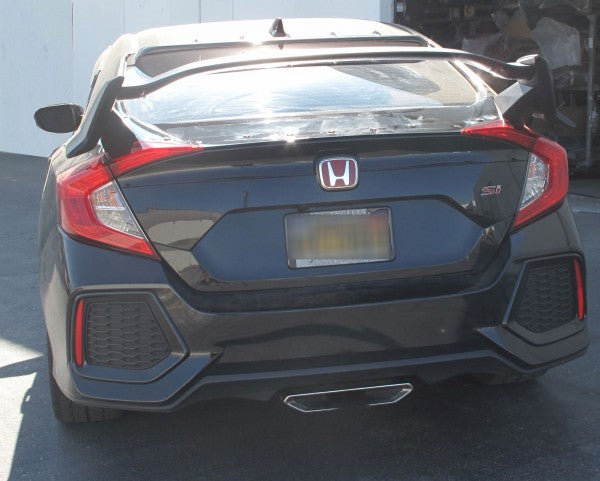 16-20 HONDA CIVIC 4DR TYPE-R STYLE REAR TRUNK SPOILER ABS PLASTIC