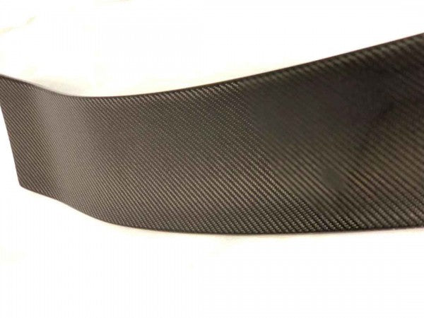 17-19 HONDA CIVIC 5DR TYPE-R REAR TRUNK LID SPOILER BLACK CARBON FIBER CENTER & UNPAINT SIDE WING