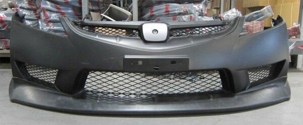 06-11 HONDA CIVIC 4DR USDM MUGEN FRONT LIP (ONLY FOR US T-R BUMPER)