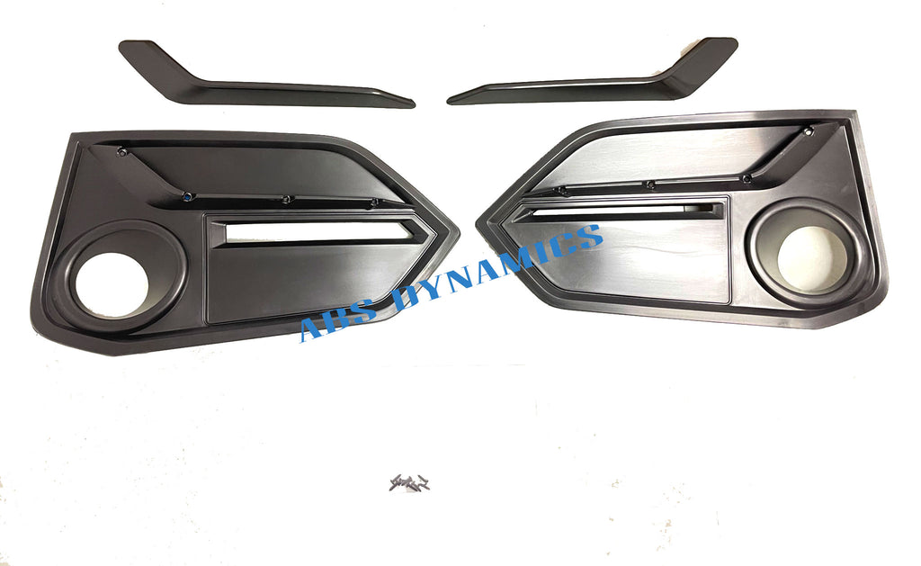 16-21 HONDA CIVIC 2020 STYLE TYPE-R FRONT FOGLIGHT GRILL COVER WITH SPEAR REPLACEMENT
