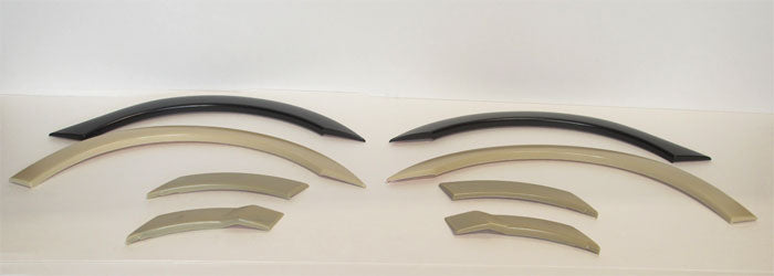 06-11 HONDA CIVIC 4DR JDM MUGEN RR FENDER FLARE SET 4PCS ABS