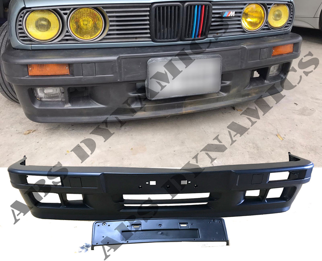 87-91 BMW E30 3-SERIES SEDAN 4DR SEDAN M-TECH 2 FULL BODY KIT PP UNPAINT (12PCS KIT)