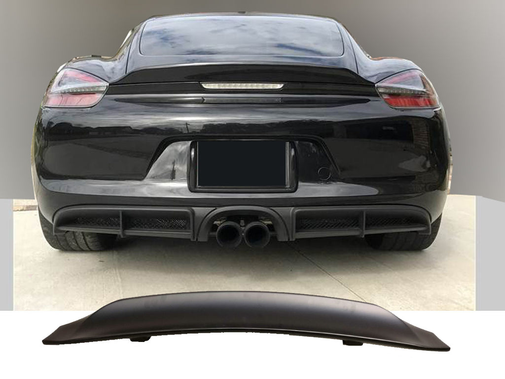 13-16 PORSCHE 981 CAYMAN GT4 DUCK TAIL TRUNK SPOILER WING