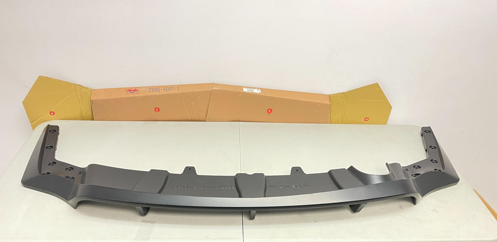 06-11 Honda Civic 4dr Rear Bumper Diffuser J's Style for HC Type-R Rear Bumper only(Black)