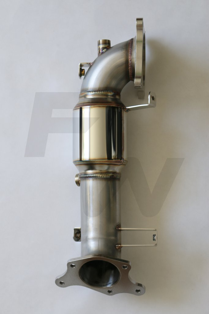 "17-20 HONDA CIVIC 2.0L TURBO STREET PERFORMANCE DOWN PIPE 200CELL (3"") EXHAUST"