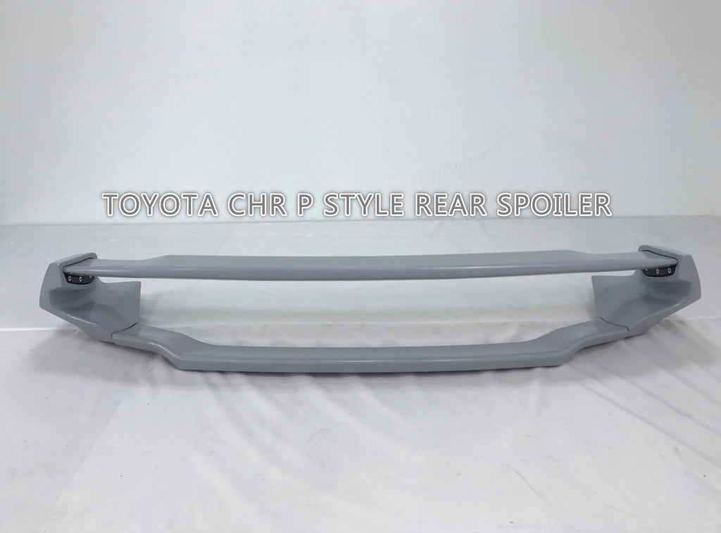 18-20 TOYOTA JDM CHR CH-R 5DR TR REAR TRUNK SPOILER WING W/ABS UNPAINT