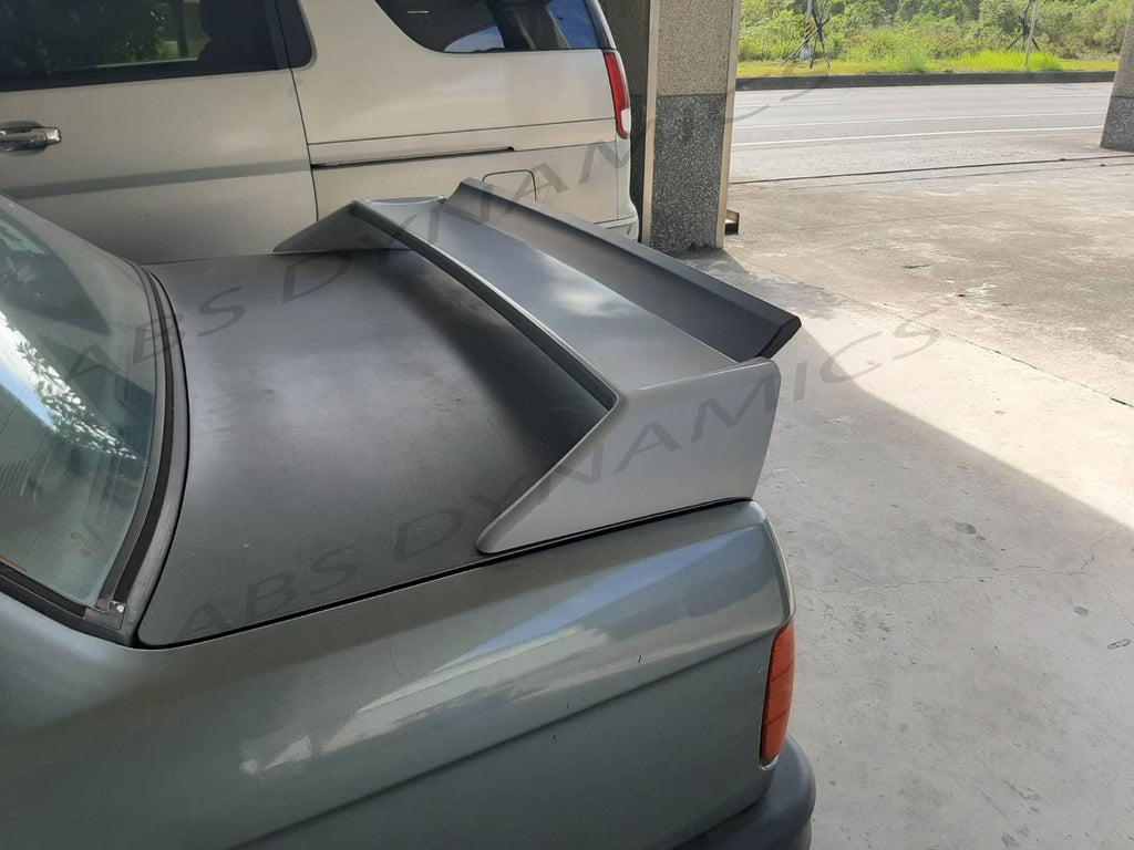 84-91 BMW E30 3-SERIES M3 STYLE REAR TRUNK SPOILER ABS UNPAINT