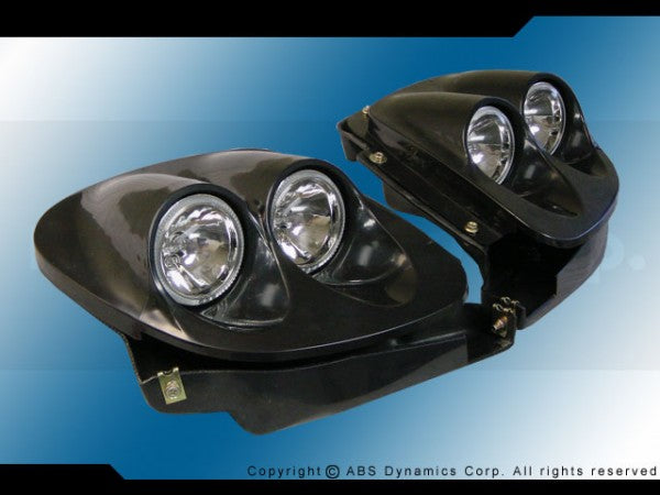 93-97 MAZDA RX-7 HEADLIGHT CONVERSION PLASTIC