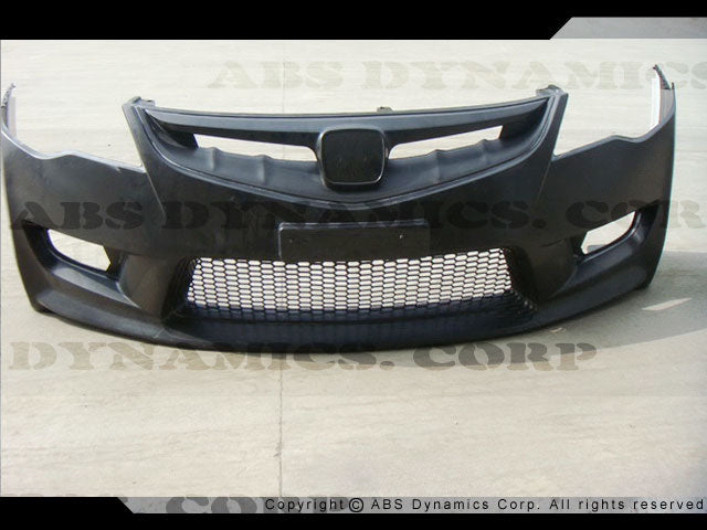 06-11 HONDA CIVIC 4D JDM TYPE-R FRONT BUMPER COVER W/GRILL (PP)