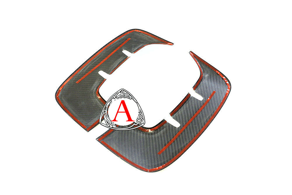 18-21 KIA STINGER (GT, GTI-GT2-GTS) FRONT FENDER VENTS OVERLAY (DRY CARBON)