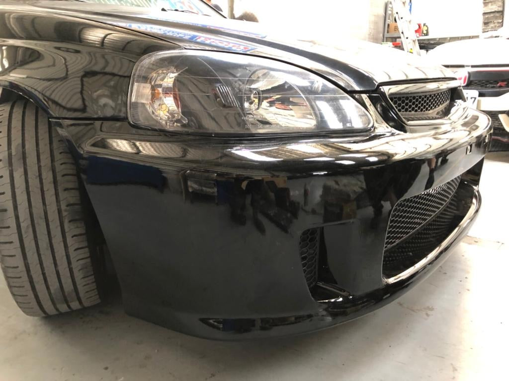 99-00 Honda Civic Back Yard Special Style Front Bumper BYS ...