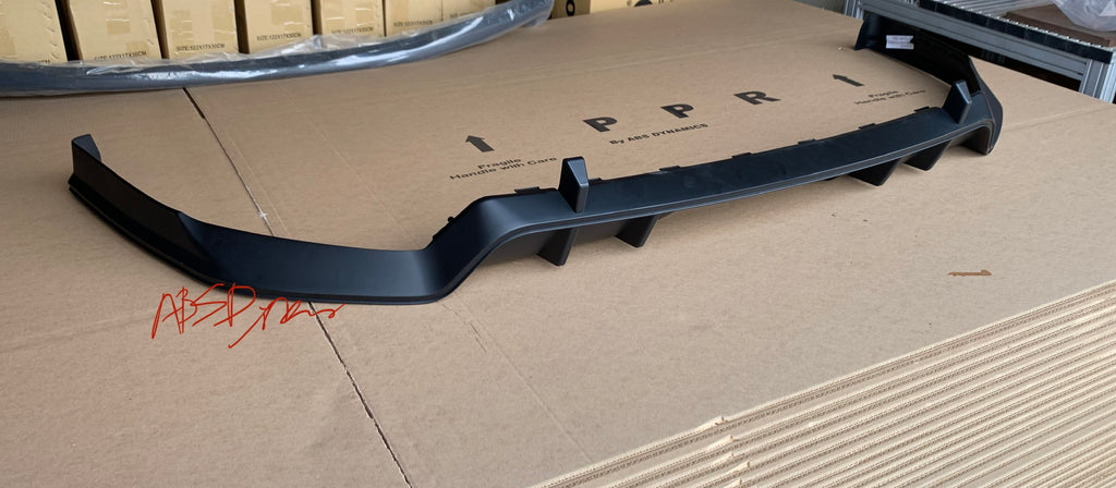 16-20 HONDA CIVIC FK1 10 GEN 4D ALL TYPE-R STYLE REAR DIFFUSER PP UNPAINT