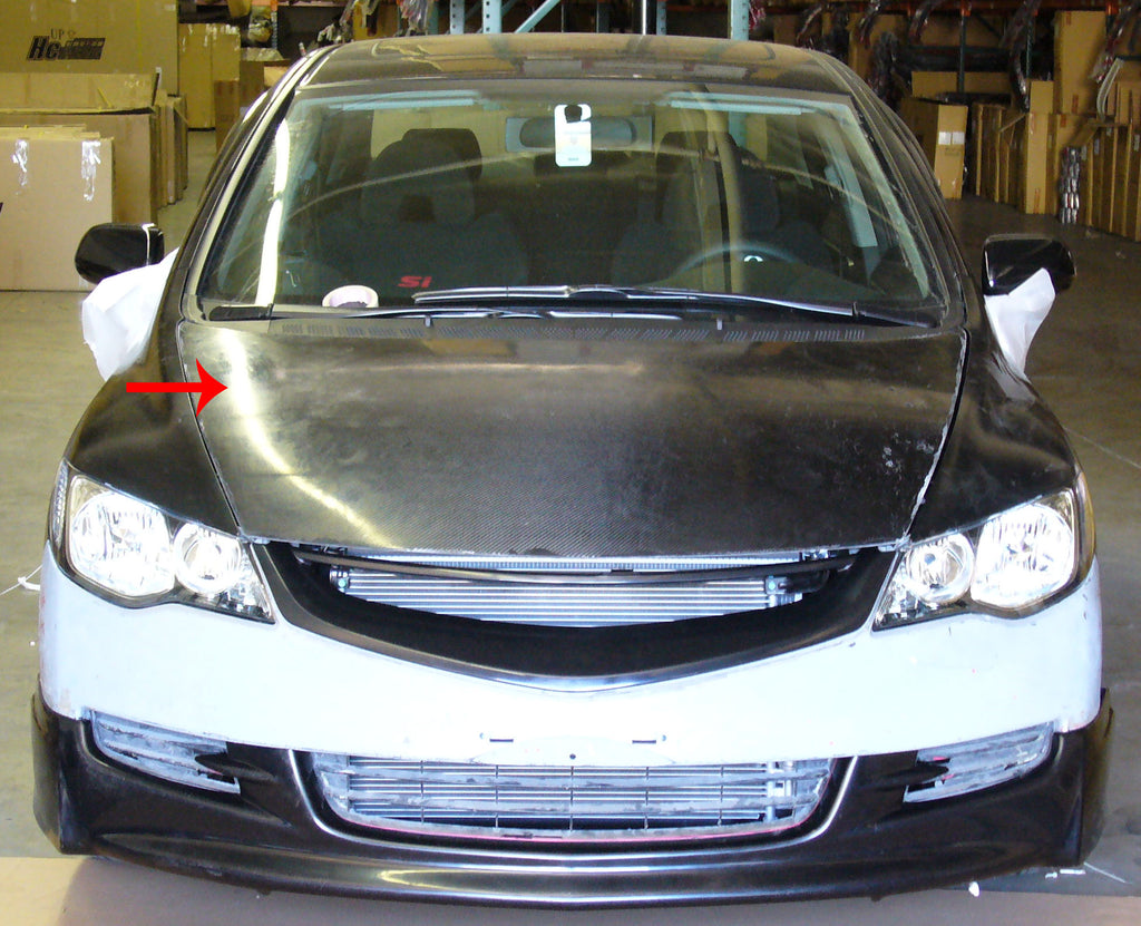 06-11 HONDA CIVIC FD1 4DR JDM TYPE-R FRONT END CONVERSION COMBO