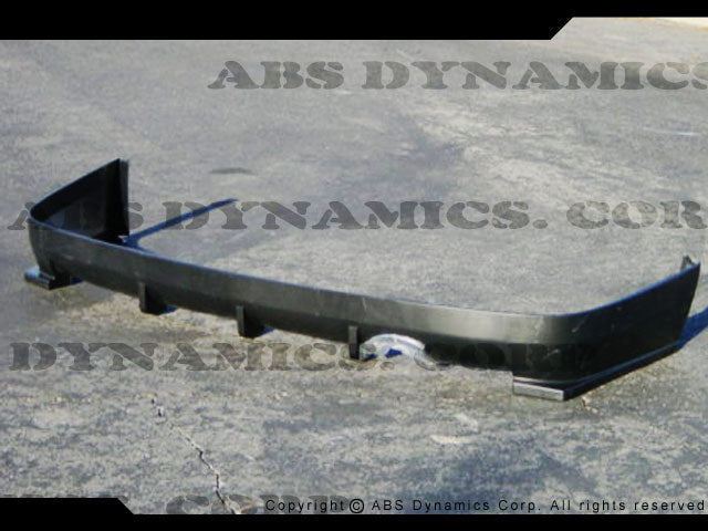 99-00 HONDA CIVIC 2/4DR HC-2 REAR BUMPER LIP SPOILER W/ HOLE (PP)
