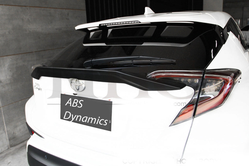 Copy of 18-20 TOYOTA JDM CHR CH-R 5DR TR M2 BIG REAR TRUNK SPOILER WING W/ABS UNPAINT