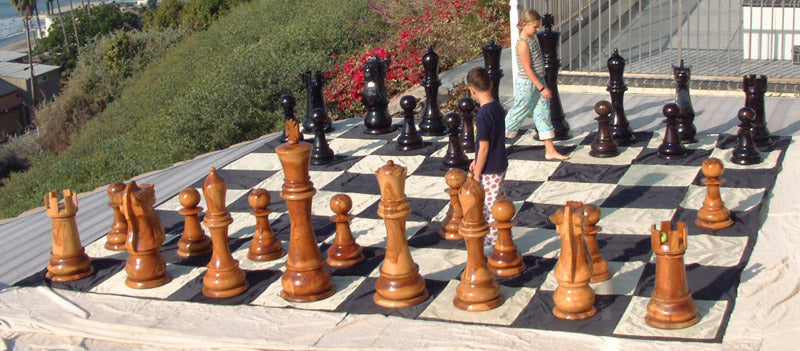 Giant Chess Boards