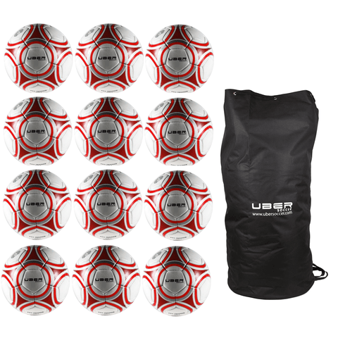 Uber Soccer Pro Trainer Ball 12 Pack Bundle - LawnGames