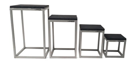 Uber Soccer Plyometric Tables - Stackable - Set of 4 - LawnGames