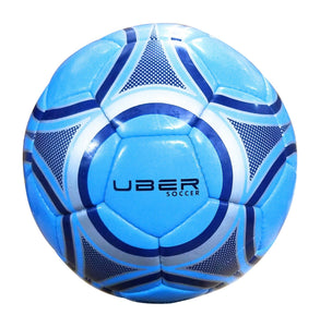 Uber Soccer Blue Steel Trainer Ball - LawnGames