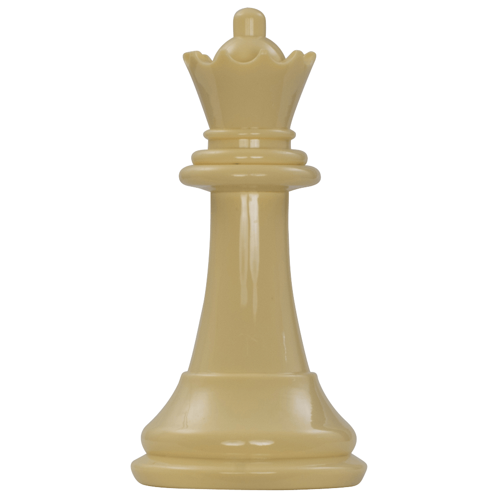 MegaChess 7 Inch Light Plastic Queen Giant Chess Piece