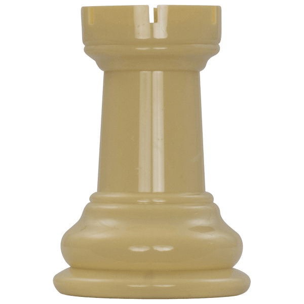 MegaChess 5 Inch Light Plastic Rook Giant Chess Piece