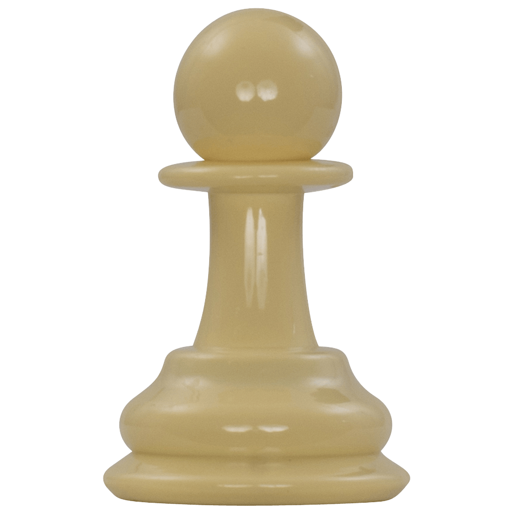 MegaChess 4 Inch Light Plastic Pawn Giant Chess Piece