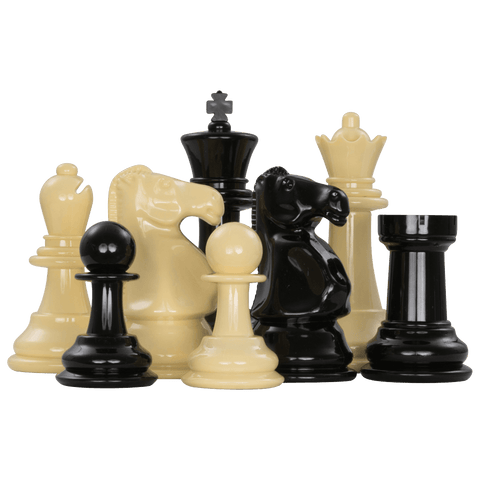 MegaChess Plastic 8 Inch Giant Chess Set - LawnGames