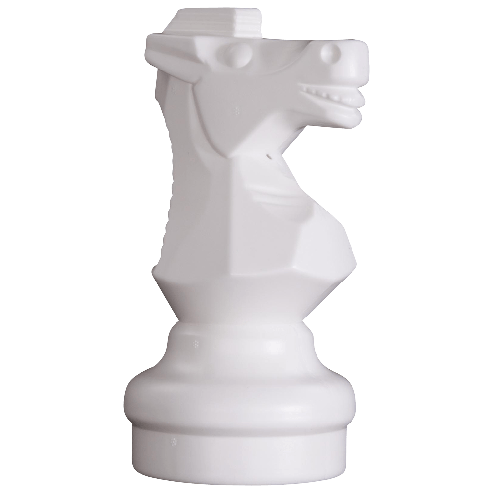 MegaChess 9 Inch Light Plastic Knight Giant Chess Piece