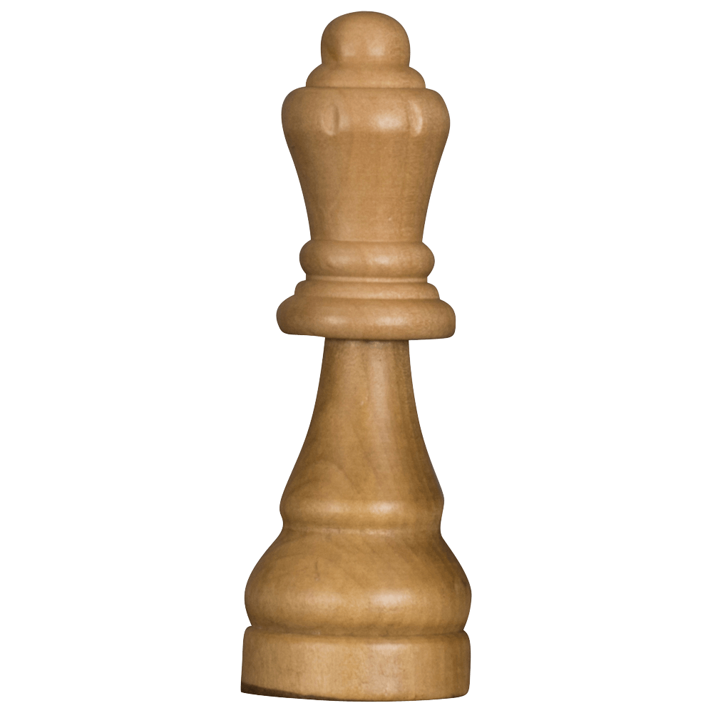 MegaChess 6 Inch Light Rubber Tree Queen Giant Chess Piece