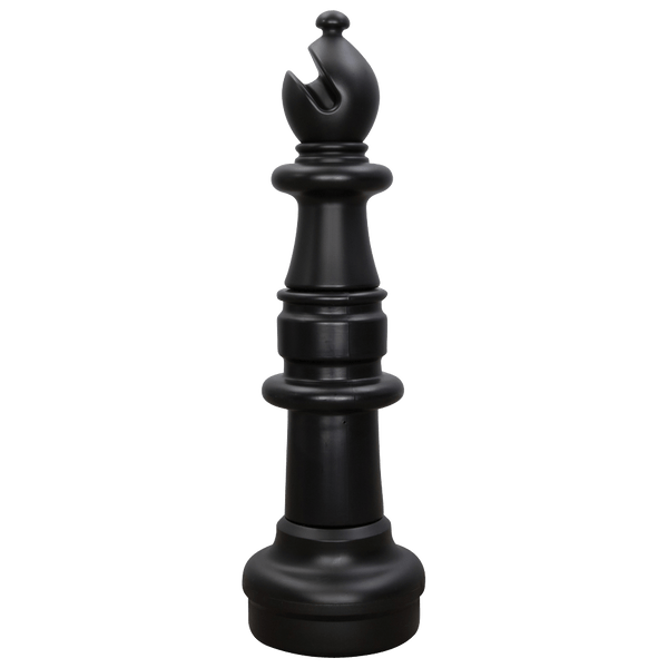 MegaChess 33 Inch Dark Plastic Bishop Giant Chess Piece