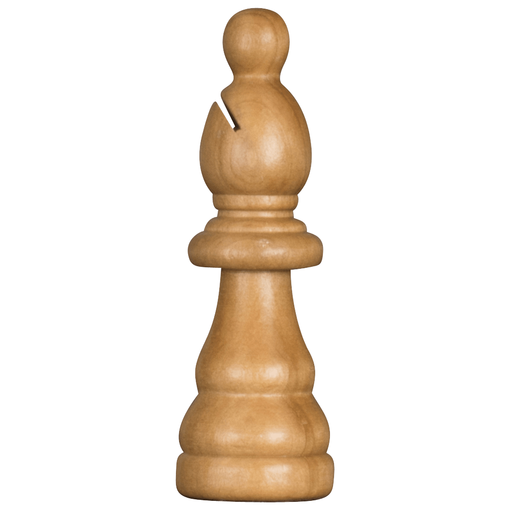 MegaChess 5 Inch Light Rubber Tree Bishop Giant Chess Piece