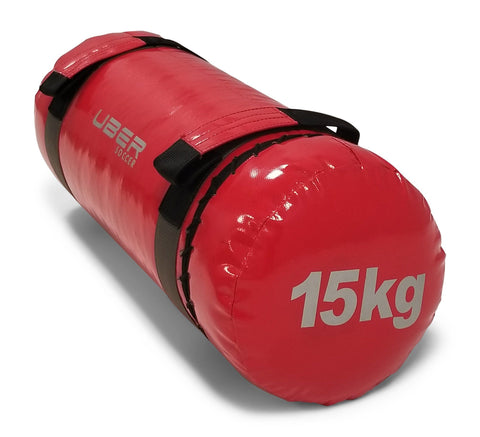 Uber Soccer Strength Training Bag - 15kg - Red - LawnGames