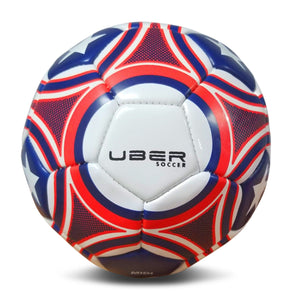 Uber Soccer USA Trainer Ball - Red, White, and Blue - LawnGames