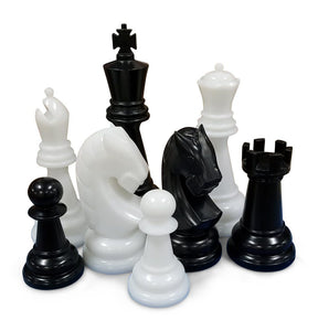 Personalized MegaChess 48 Inch Perfect Giant Chess Set - LawnGames