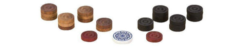 Uber Games Carrom Game Coins and Striker Set - Wooden - LawnGames