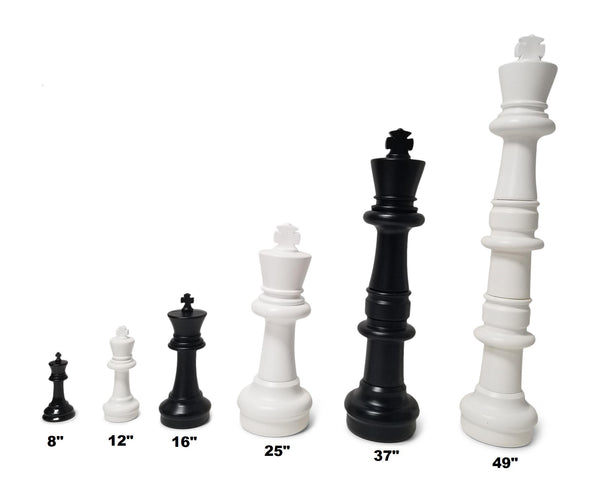 MegaChess 16 Inch Plastic Giant Chess Set