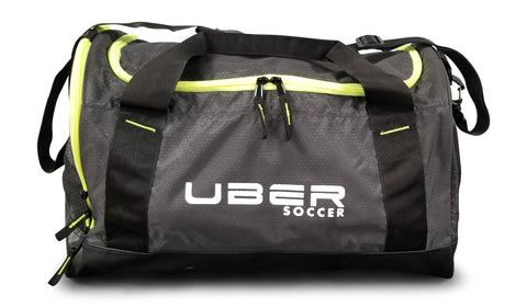 Uber Soccer Players Bag - Small - Black and Green - LawnGames