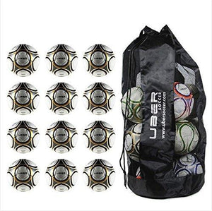 Uber Soccer Match Soccer Ball Bundle - Set of 12 - Size 5 - LawnGames