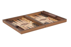 Uber Games Olive Burl Backgammon Set - LawnGames