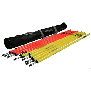 Uber Soccer Agility Training Poles - LawnGames
