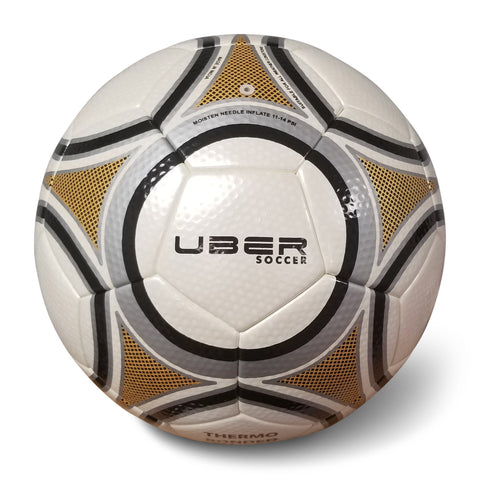Uber Soccer Thermo Bonded Match Ball - LawnGames