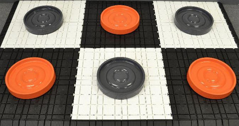 MegaChess 14 Inch Fiberglass Giant Checkers - LawnGames