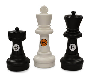 MegaChess Custom 25 Inch Plastic Giant Chess Set - LawnGames