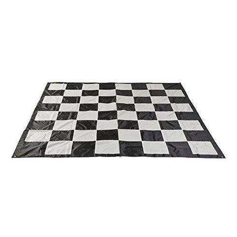 Uber Garden Chess and Checker Mat - LawnGames