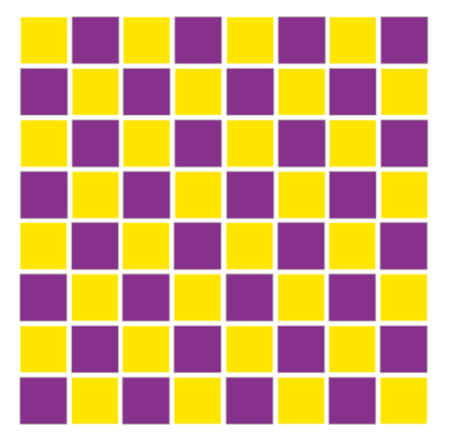 megachess template for giant chess board with 21 inch squares 14 x