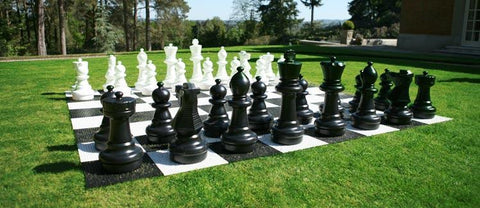 Uber Giant Plastic Chess Board - LawnGames